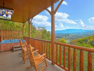 Photo for Enjoy Incredible Views and a Private Home Theater Room