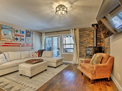 Photo for NEW-Breckenridge Townhome w/Fire Pit Near Main St!