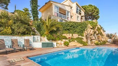 Photo for Holiday house Lloret de Mar for 8 persons with 3 bedrooms - Villa