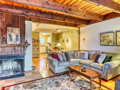Photo for NEW LISTING! Roomy & comfortable Bolton Valley condo w/ ski in/out access!