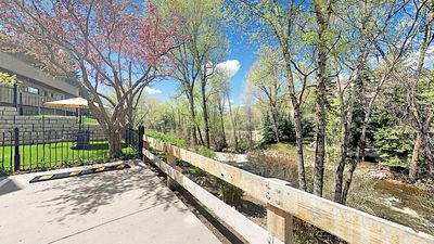 River - This condo is set on the Roaring Fork River.