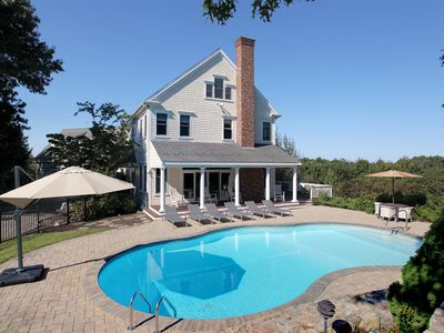 Photo for Stunning Views of Sandy Neck..Relax  this Summer in style and sit by the pool!