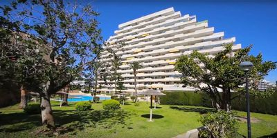 Photo for Fantastic 2 bedroom apartment next to the sea