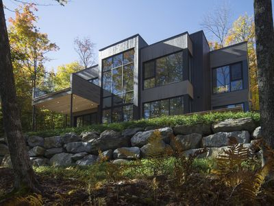 Photo for Contemporary and  luxurious property on Lake Memphremagog