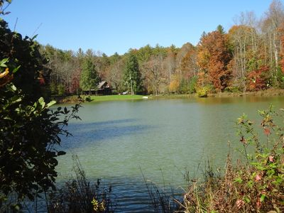 Private Pond, Historic Cabin on 12 Acres Clean, Comfortable, Away From Crowds