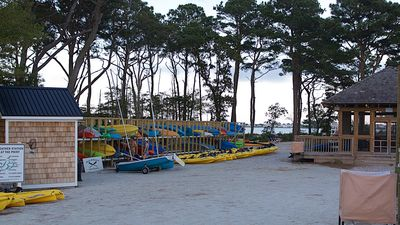 Kayaks at the Point