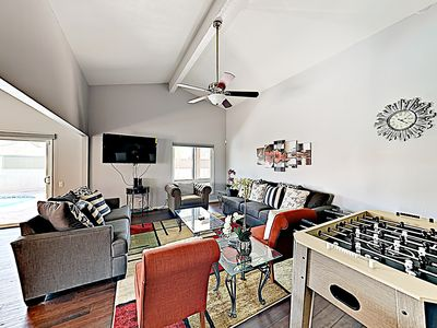 Living Room - Welcome to Palm Springs! This home is professionally managed by TurnKey Vacation Rentals.
