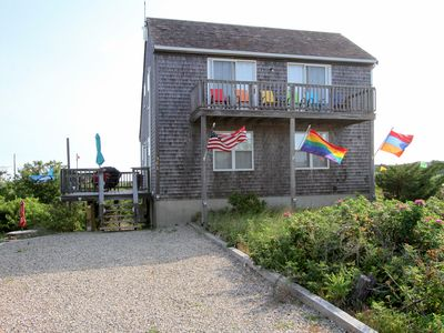Photo for 3BR w/ Views of Cape Cod Bay, Deck & Balconies – Shuttle to Provincetown