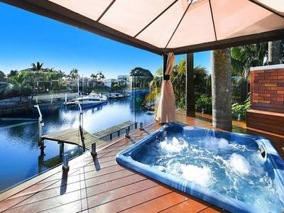 Photo for LUXURY *  WATERFRONT  *  FAMILY ENTERTAINER * IN BROADBEACH WATERS