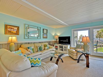 Photo for Updated, Partial Ocean View Seagrove Villa- Comes with a SPORTS CARD!