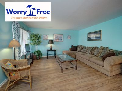 Photo for Surfside 221 is a 2 bedroom condo, Close to the Beach & with a Heated Pool