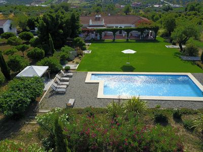 Photo for Luxury 4 Bed Villa in Tranquil Setting with Huge Private Pool