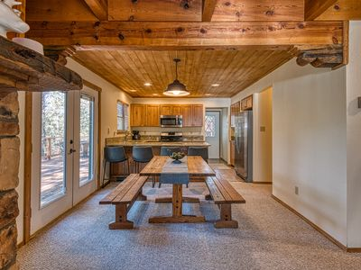 Photo for NEW LISTING! Cozy cabin w/spacious deck and forest views - close to skiing!