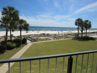 Photo for Perfect Orange Beach Location! Direct Beachfront View