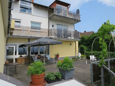 Photo for Apartment number 2 with balcony and beautiful view of the Rhine Valley