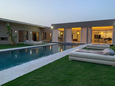 Photo for High Standing Villa, 15 minutes from Marrakech - VILLA GHITA