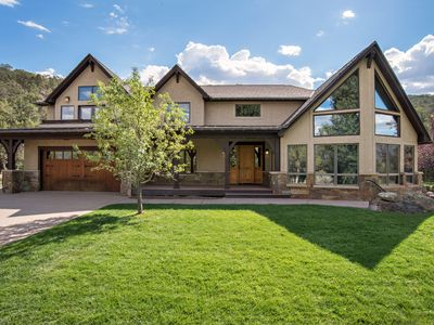Photo for Luxury Mountain Home with Gorgeous Mountain Views and Hot Tub, Near Skiing!