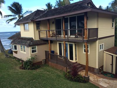 Photo for Beach Front 180 Degree View Of The Ocean - Gorgeous
