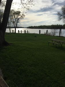 Evening view of the Missouri