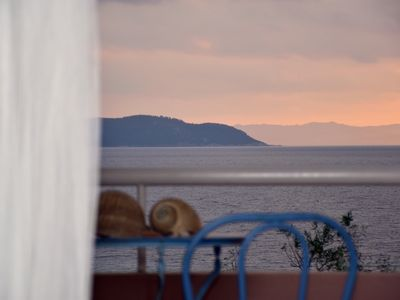 Photo for Sunset Summer House - Private beach, sea view