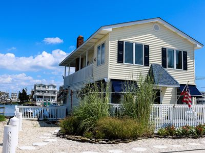 Photo for UNIQUE PROPERTY located on the BAY with boat dock and multiple outside areas for enjoying WATERFRONT living!