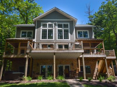 Photo for Immaculate 5 Bedroom lakefront home with luxurious furnishings throughout!
