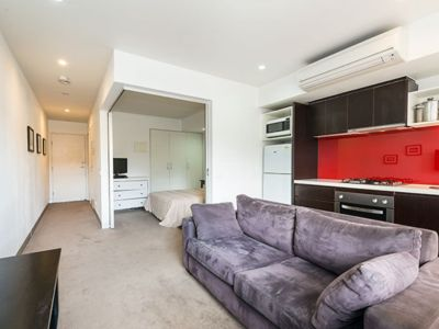 Photo for Comfortable and quiet in fantastic location and easy walk to beach and shops.