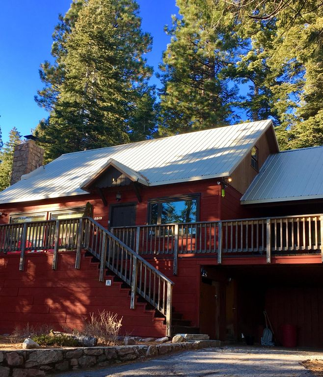 Lake Tahoe Vacation Rentals On The Water: Red House Tahoe~Summer!~Split Lake Front, S...