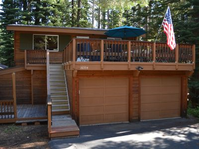 Photo for 3.5 bedroom, 2 bath, sleeps 8. West End of Donner Lake DLR#059