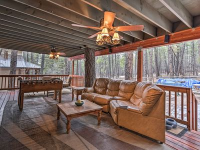Photo for NEW! Munds Park Cabin w/Furnished Deck & Fire Pit!