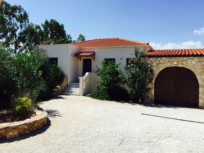 Photo for Luxury Family Friendly 4 Bed Villa, Private Heated Pool, Sea & Mountain Views