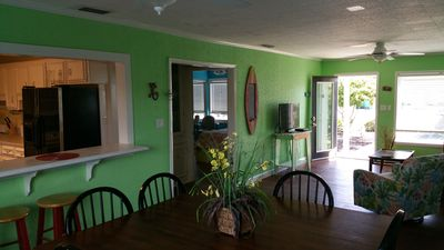 Photo for *DejaView* 3-4BR/2BA, steps from the ocean! 360 deck view!