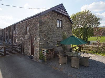 Photo for Enchanting stone building packed with original features, this cosy and welcoming farmhouse property