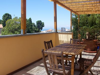 Photo for The Star of the Sea Tropea - App. N ° 5 Two-room apartment with Sea View