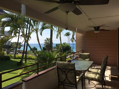 Photo for Ocean View Beach Condo-#103-Directly across Alii Dr to White Sands Beach!