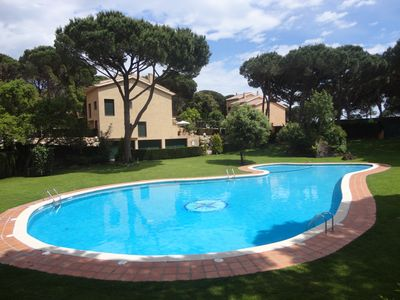 Photo for LES PENYES, ATACHED HOUSE WITH BIG GENERAL GARDEN AND POOL