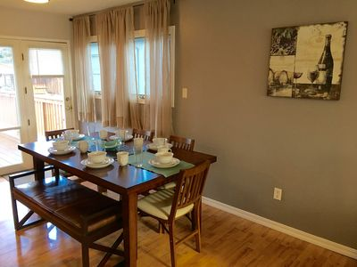 Dining for 6, upstairs