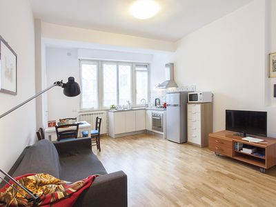 Photo for Nice apartment close to Trastevere and 15 minutes. from the center of Rome