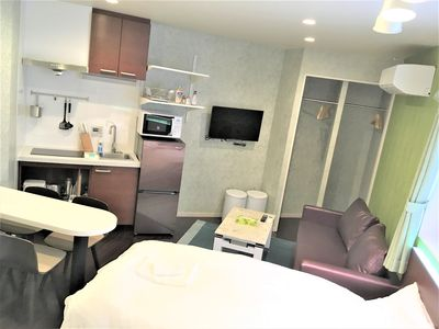 Photo for New Room 201!2 minutes on foot from Tamade Subway Station, 8 minutes on Namba Pass