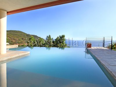 Photo for 4 bedroom Villa, sleeps 8 in Miramar with Pool, Air Con and WiFi