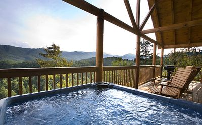 Photo for Above the Pines | Amazing Mountain View | Minutes to Pigeon Forge | Community Pool