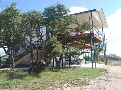 Photo for Stay on a ranch in the Texas Hill Country relax and visit nearby wine country!