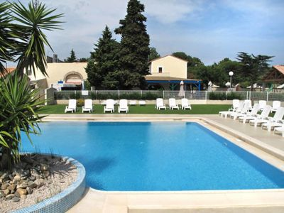 Photo for Vacation home Domaine Les Mûriers (VED101) in Vendres-Vendres Plage - 6 persons, 2 bedrooms