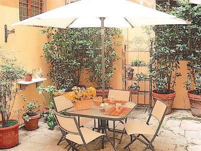 Photo for FLORENCE HISTORICAL CENTER, GROUND FLOOR APARTMENT WITH PRIVATE COURTYARD,WI-FI