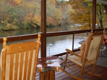 Riverfront Cabin In The Mountains Near Bryson City And Cherokee Includes  Taxes