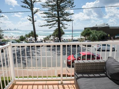 Photo for Penthouse Apartment, Amazing Views, Absolute Becah Front!