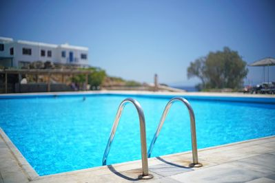 Swimming pool: 1 minute walk from the house