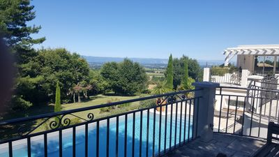 Photo for Villa with pool in a green setting, in the heart of the Drôme