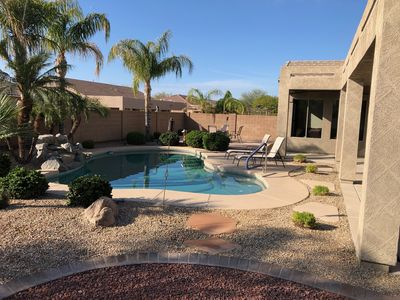 Photo for Newly updated 5 Bedroom home with private heated pool in Mesa