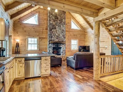 Photo for Whitetail Pines Cabin | Hocking Hills